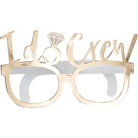 Ginger Ray I Do Crew Funglasses, Pack of 8, Gold