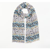 Collection WEEKEND by John Lewis Ditsy Floral Scarf, Grey Mix