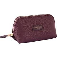 Otis Batterbee Downshire Small Makeup Bag, Purple Pebble