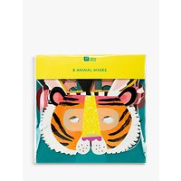 Talking Tables Party Animal Masks, Pack of 8