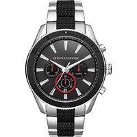 Armani Exchange Men's Chronograph Bracelet Strap Watch