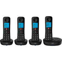 BT Essential Phone Y Digital Cordless Phone with Nuisance Call Blocking & Answering Machine, Quad DECT