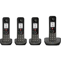 BT Advanced Phone Z Digital Cordless Phone with 100% Nuisance Call Blocking & Answering Machine, Quad DECT