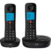 BT Essential Phone Y Digital Cordless Phone with Nuisance Call Blocking & Answering Machine, Twin DECT