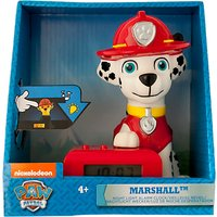 Paw Patrol Marshall Night Light Alarm Clock