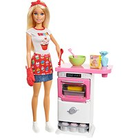 Barbie Bakery Chef Doll and Oven Playset