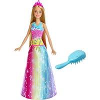 Barbie Dreamtopia Brush 'N' Sparkle Princess Doll