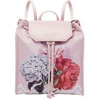 Ted Baker Emaa Drawstring Backpack, Dusky Pink