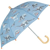 Hatley Children's Robotic Dinosaur Print Umbrella, Blue
