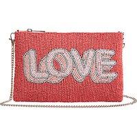hush Love Beaded Clutch Bag, Multi
