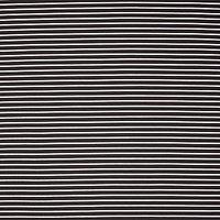 Oddies Textiles Jersey Stripe Fabric, Black