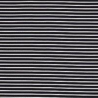 Oddies Textiles Jersey Stripe Fabric, Navy