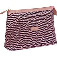 Otis Batterbee Reddington Wash Bag, Pink