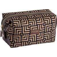 Otis Batterbee Fenton Wash Bag, Brown/print