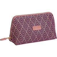 Otis Batterbee Downshire Large Makeup Bag, Pink