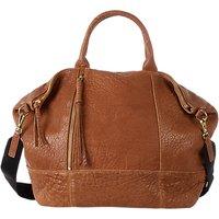 Gerard Darel Only You Textured Leather Grab Bag, Beige