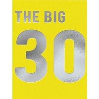 Redback Cards Big 30th Birthday Card