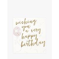 Caroline Gardner Balloons Birthday Card