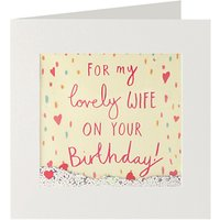 James Ellis Stevens Lovely Wife Birthday Card