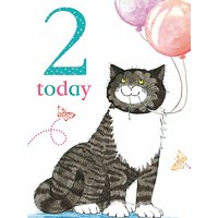 Woodmansterne 2nd Birthday Card