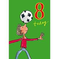 Woodmansterne 8th Birthday Card, Muddy Birthday