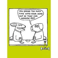Cardmix Car Window Blank Greeting Card
