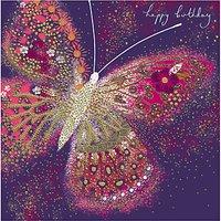 Woodmansterne Butterfly Birthday Card