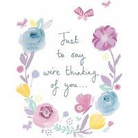 Woodmansterne Heartfelt Sympathy Card