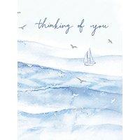 Woodmansterne Thinking Of You Sympathy Card