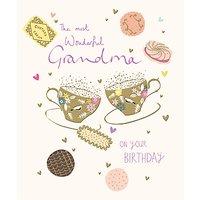 Woodmansterne Wonderful Grandma Birthday Card
