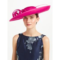 John Lewis Becky Large Shantung Disc Occasion Hat