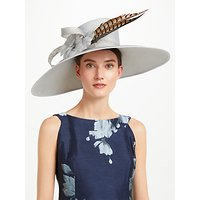 John Lewis & Partners Kim East West Shantung Occasion Hat