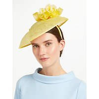 John Lewis Ruth Rose Crown Disc Occasion Hat