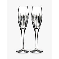 Waterford Ardan Collection Champagne Flutes, Clear, 280ml, Set of 2