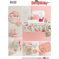 Simplicity Sewing Room Accessories Sewing Pattern, 8532