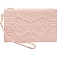 Ted Baker Verda Quilted Leather Wristlet Pouch