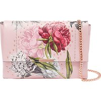 Ted Baker Ploomi Palace Gardens Leather Cross Body Bag, Dusky Pink