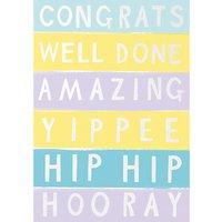 Cardmix Congrats Greeting Card