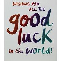 Paperlink Good Luck Card