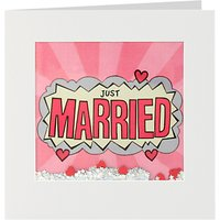 James Ellis Stevens Just Married Shakies Card