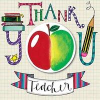 Rachel Ellen Designs Teacher Thank You Card