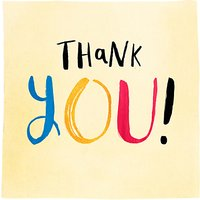 Pigment Thank You Card