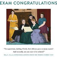 Cardmix Exam Congratulations Greeting Card