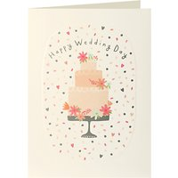 James Ellis Stevens Wedding Cake Card