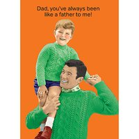 Cath Tate Father To Me Fathers Day Card