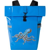 PS Paul Smith Octopus Print Roll-Top Backpack, Light Blue