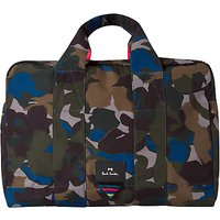 PS Paul Smith Camouflage Holdall, Green