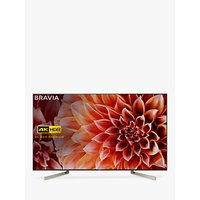 Sony Bravia KD75XF9005 LED HDR 4K Ultra HD Smart Android TV, 75 with Freeview HD & Youview, Black