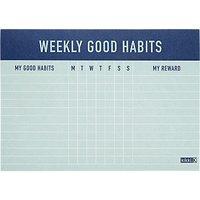kikki.K Inspiration Weekly Habits Pad