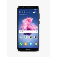 "Huawei P Smart Smartphone, Android, 5.65"", 4G LTE, SIM Free, 32GB, Black"